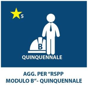 AGGIORNAMENTO RSPP (1,2,6,8,9) – QUINQUENNALE
